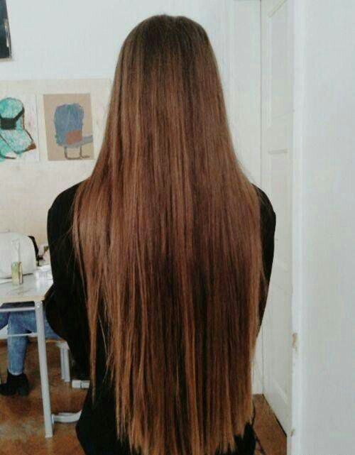 Hip length hair