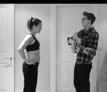 超级温馨!音乐家记录妻子怀孕的每一天