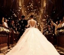 周杰伦与昆凌英国Selby Abbey教堂唯美婚礼