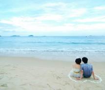 唯美沙滩图片,关于沙滩的图片