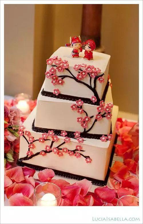 蛋糕届的中国风