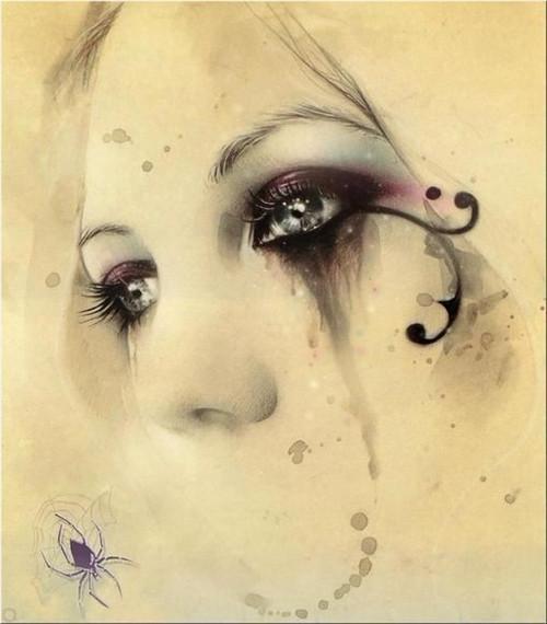 图片大全唯美伤感眼泪