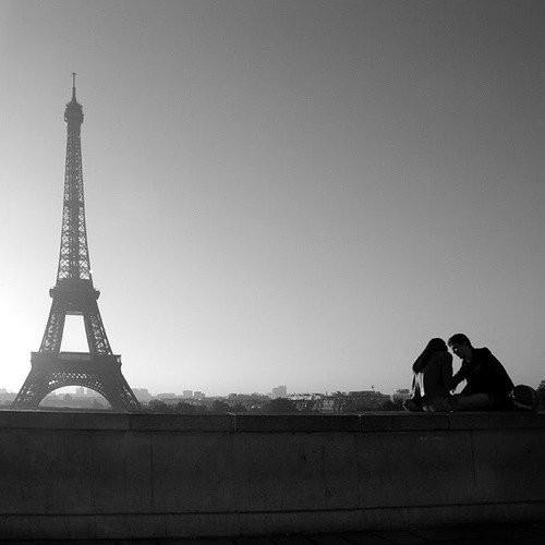 埃菲尔铁塔唯美照片
