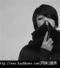 帅气黑白女生QQ头像