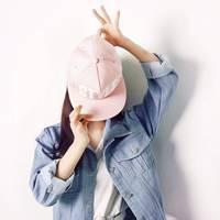2016带帽子女生头像