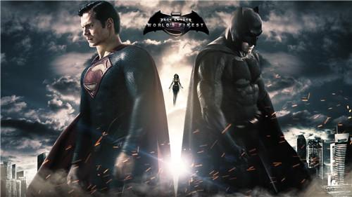 蝙蝠侠大战超人壁纸