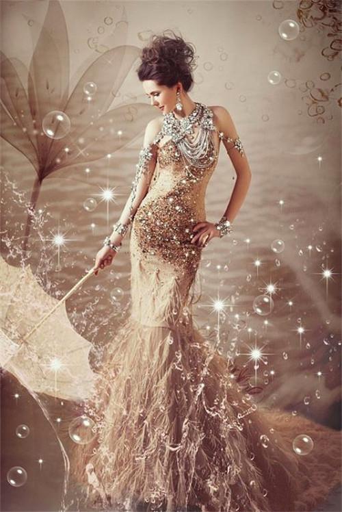 让海风吹着我的长发 我的裙子