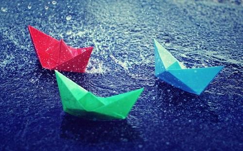 小纸船 摇啊摇