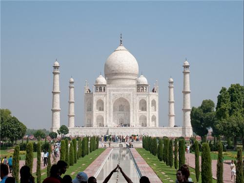 印度泰姬陵唯美图片