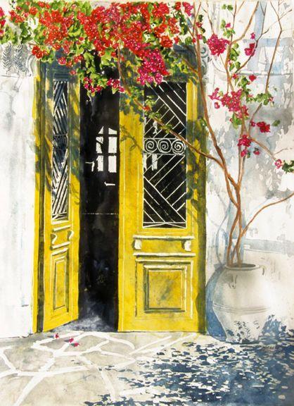 一扇可走进童话里的门